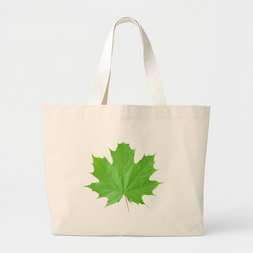Maple Leaf Canvas Bags