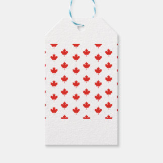 Maple Leaf Canada Emblem Country Nation Day Gift Tags