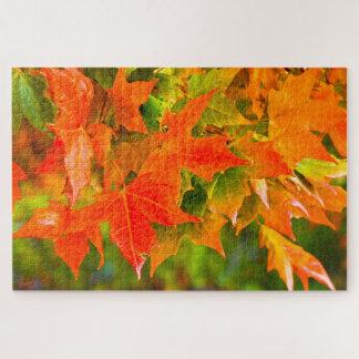 Maple Leaf Dance Jigsaw Puzzle