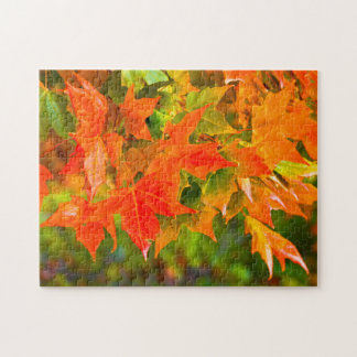 Maple Leaf Dance Jigsaw Puzzles