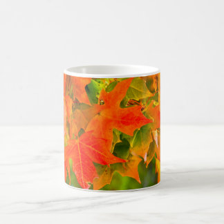 Maple Leaf Dance Mugs