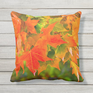 Maple Leaf Dance Outdoor Cushion
