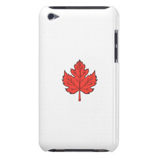 Maple Leaf Drawing Case-Mate iPod Touch Case