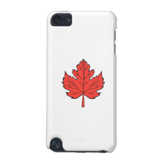 Maple Leaf Drawing iPod Touch 5G Covers