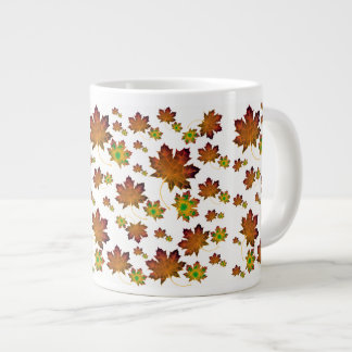 Maple Leaf Fall Large Coffee Mug