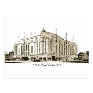 Maple Leaf Gardens 1931 Postcard