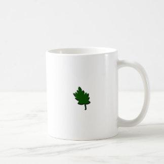 maple leaf green coffee mugs