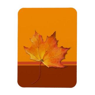 Maple Leaf orange Flexi Magnet