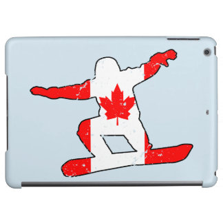 Maple Leaf SNOWBOARDER (blk)
