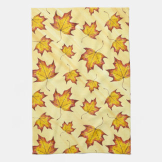 Maple Leaf Tea Towel