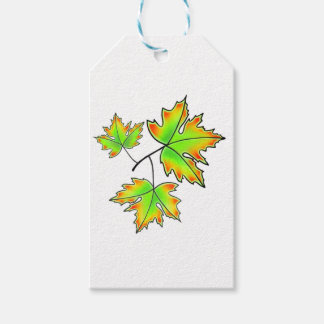 Maple Leaves Gift Tags