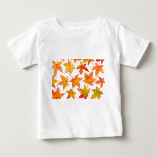 Maple leaves in autumn colors baby T-Shirt