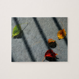 Maple Leaves Jigsaw Puzzle