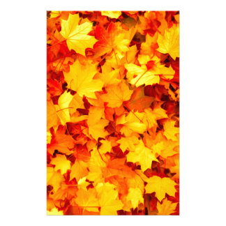 Maple Leaves Stationery