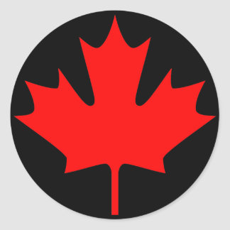maple leaves - Stickers