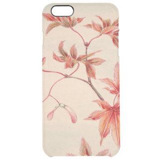 Maple leaves (Vintage Japanese print) Clear iPhone 6 Plus Case