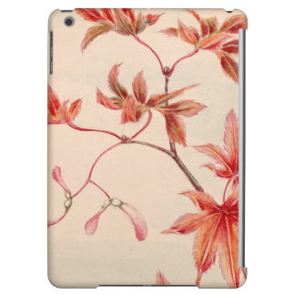 Maple leaves (Vintage Japanese print) iPad Air Case