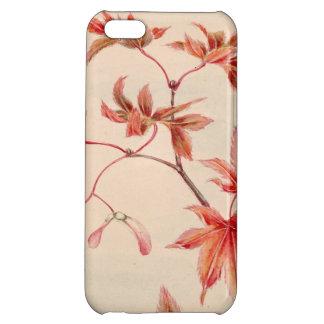 Maple leaves (Vintage Japanese print) iPhone 5C Case
