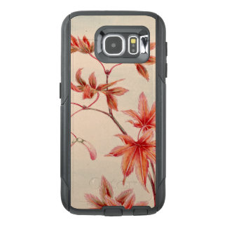 Maple leaves (Vintage Japanese print) OtterBox Samsung Galaxy S6 Case