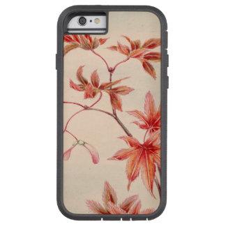 Maple leaves (Vintage Japanese print) Tough Xtreme iPhone 6 Case