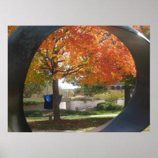 Maple Sculpture Poster