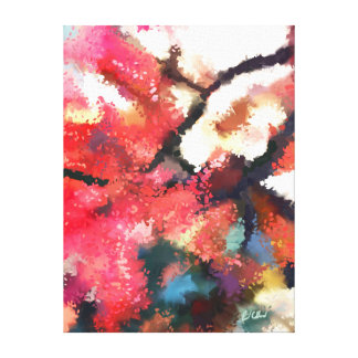 Maple Sprites Canvas Print