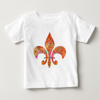 Maple Star Designer Fleur-de-Lis T Shirt