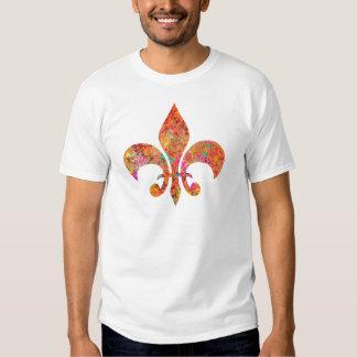 Maple Star Designer Fleur-de-Lis T-shirt