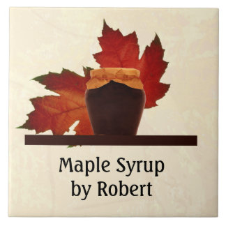 Maple Syrup Country Kitchen Tile