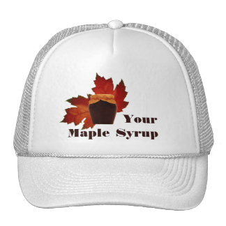 Maple Syrup Hat 2