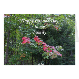Maple Tree-Canada Day Card