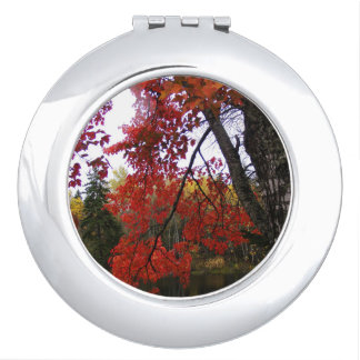 Maple Tree Compact Mirror