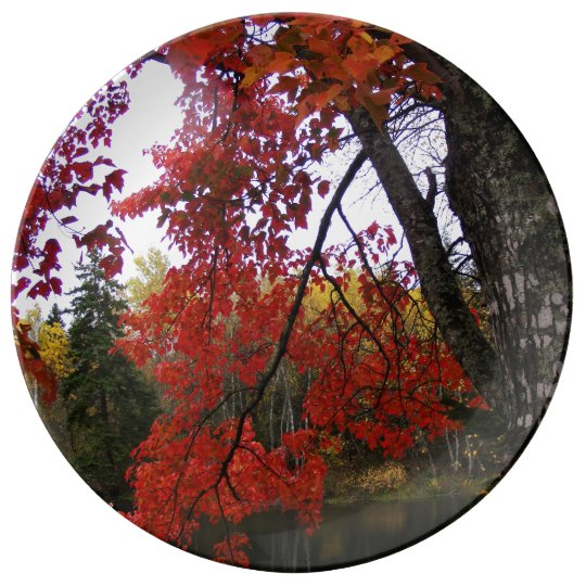 Maple Tree Dinner Plate