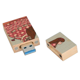 Maple Usb Drive Quotes Wood USB 3.0 Flash Drive