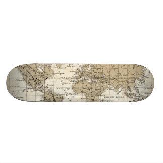 Mappemonde Skate Board Deck