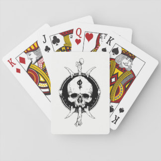 Maps set playing cards