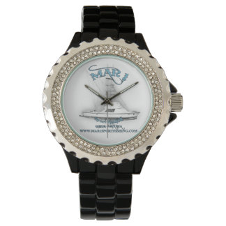 Mar1 Sport Fishing 31' Bertram Rhinestone Watch