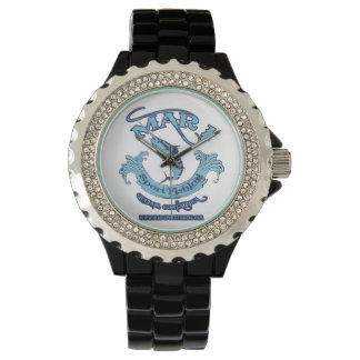 Mar1 Sport Fishing Classic Rhinestone Watch