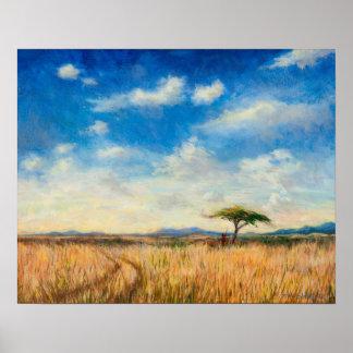 Mara Landscape 2012 Poster