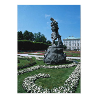 Marabell Gardens, Salzburg, Austria Personalized Announcement