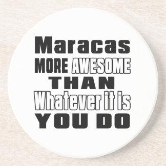 Maracas more awesome whatever you do beverage coasters