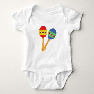 Maracas Shakers Baby Bodysuit