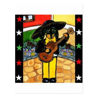 Marachi Doxie Postcard