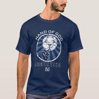 Maradona 86 World Cup Hand of God T-Shirt
