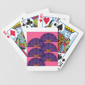 Marakesh ethno edition Purple mosaic Bicycle Playing Cards