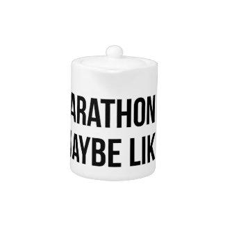 Marathon & 3 People