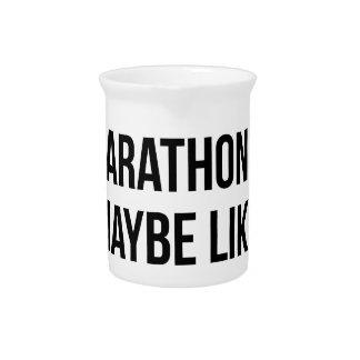 Marathon & 3 People Pitcher
