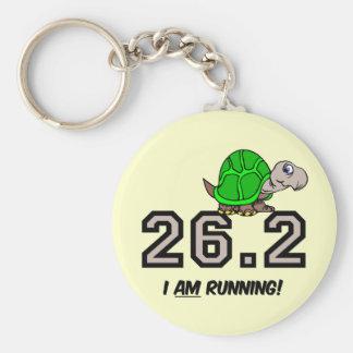 marathon basic round button key ring