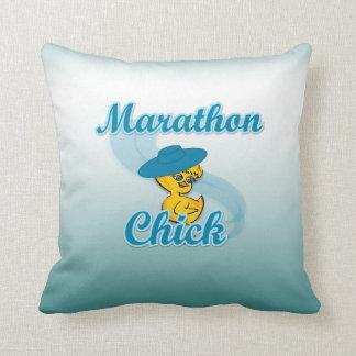 Marathon Chick #3 Cushion