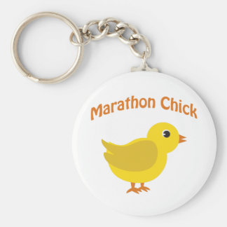 Marathon Chick Keychains